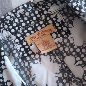 Paris Blues Jackets & Coats - Black & White Summer Blazer